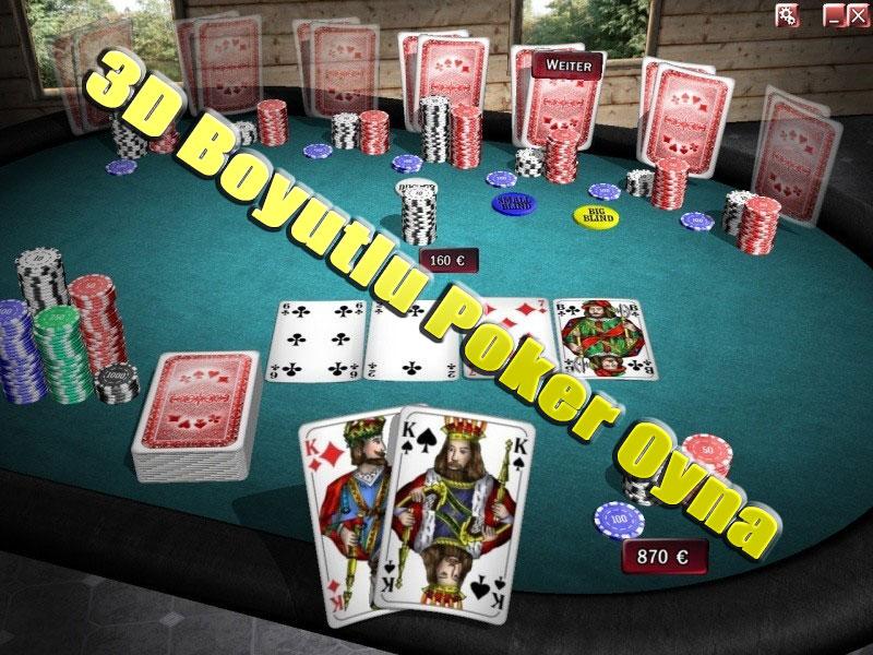 3 Boyutlu Poker Oyna, 3D Poker Oyna, Poker Oyna 3 Boyutlu, Poker Oyna 3D